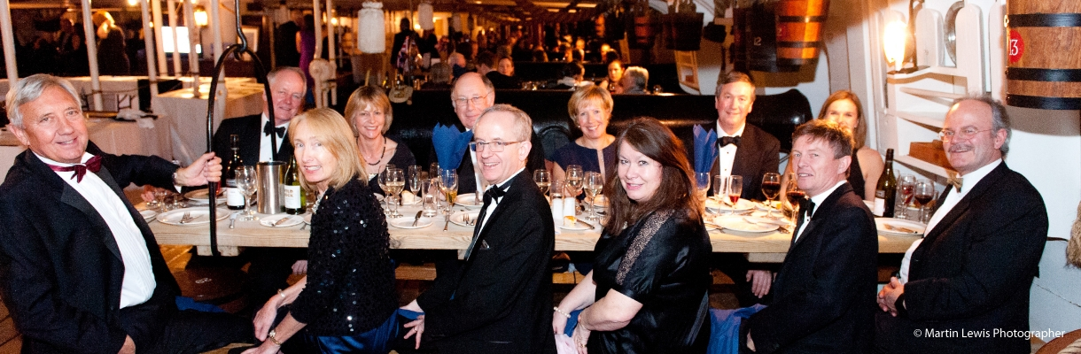 Corporate Parties on HMS Warrior