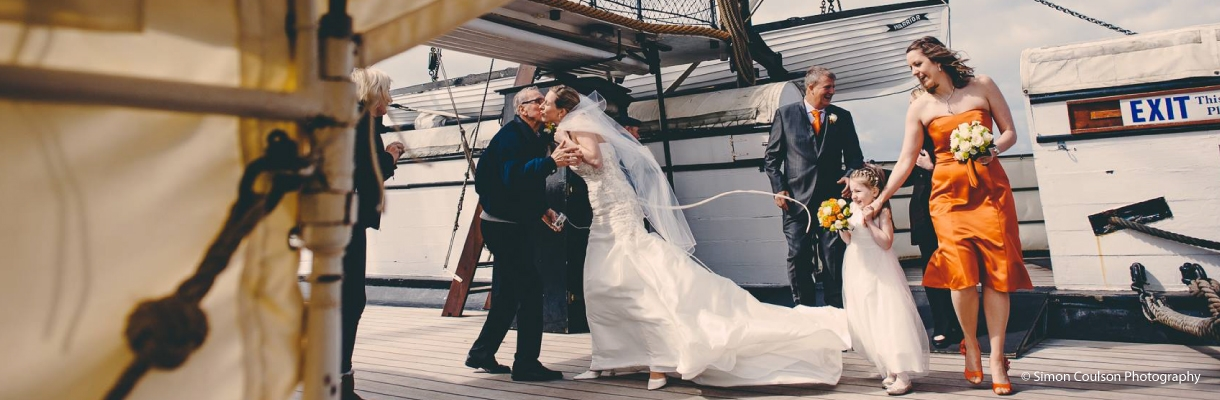 HMS Warrior Wedding