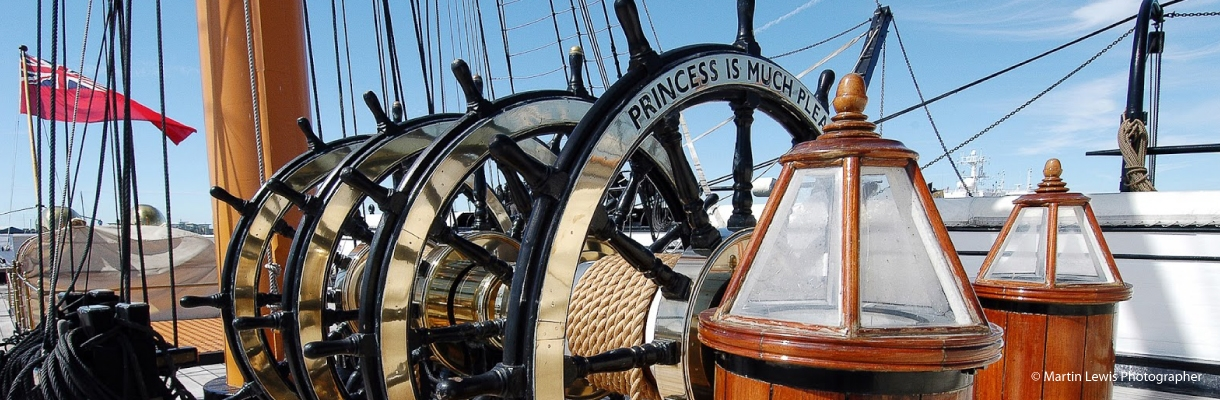 HMS Warrior wheels