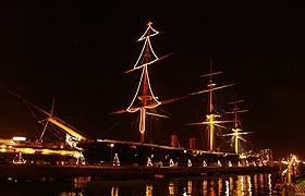 HMS Warrior Christmas Parties